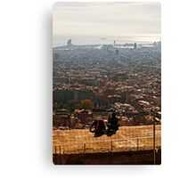 The city is ours Canvas Print