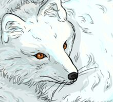 Arctic Fox Sticker