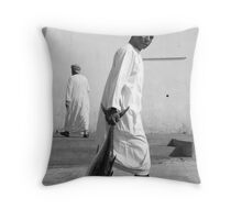 Tuna Fisherman, Muscat, Oman Throw Pillow