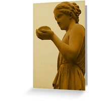 Lady Of Stone Greeting Card
