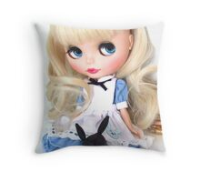 Annabel as Alice Throw Pillow