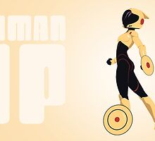 woman up! (the poster) by Giulia Filippini