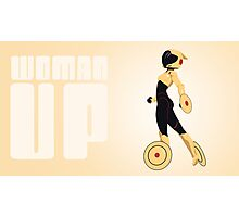 woman up! (the poster) Photographic Print