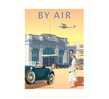 Art Deco Croydon Airport Art Print