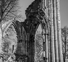 Ruins of St. Mary's Abbey by Nicole Petegorsky