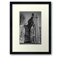 Ruins of St. Mary's Abbey Framed Print