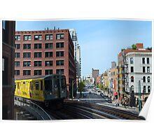 Chicago Subway Poster
