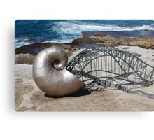 Sea Sculptures Metal Print