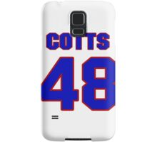 National baseball player Neal Cotts jersey 48 Samsung Galaxy Case/Skin