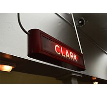 Clark Street Subway Chicago Photographic Print