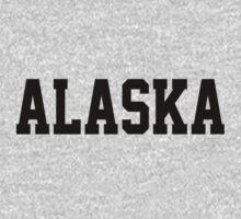 Alaska Jersey Font Black by USAswagg