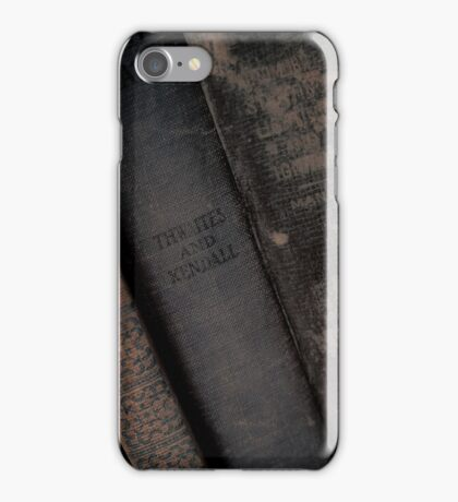 Books Well Read iPhone Case/Skin