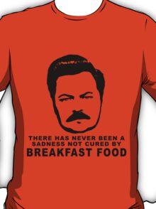 Ron Swanson- Breakfast Food T-Shirt