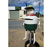 Letterbox, Culcairn Mens Shed, NSW, Australia 2013 Photographic Print