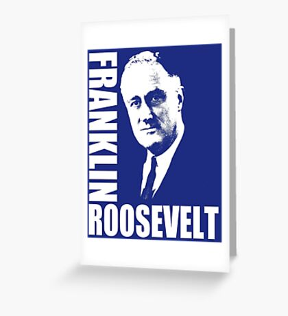 FDR-1933 Greeting Card