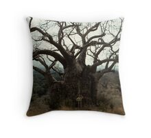 The Mighty Baobab  Throw Pillow