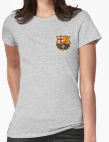 BARCELONA BARCA Womens Fitted T-Shirt