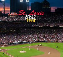 St. Louis Home of Baseball Fever by don thomas