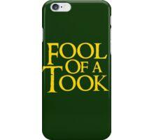 Tookish Fools Golden iPhone Case/Skin