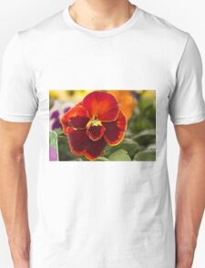 Red Pansy T-Shirt