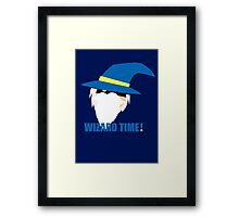 WIZARD TIME! Framed Print