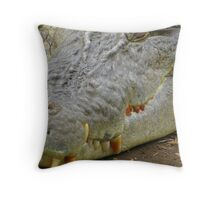 cavity anyone ......like stomach cavity ! Throw Pillow