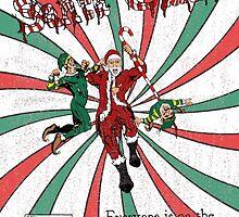 Evil Santa Claus Comic Cover by Josh Lant