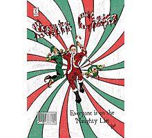Evil Santa Claus Comic Cover Photographic Print
