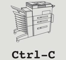 Ctrl-C by Salvatore Testa