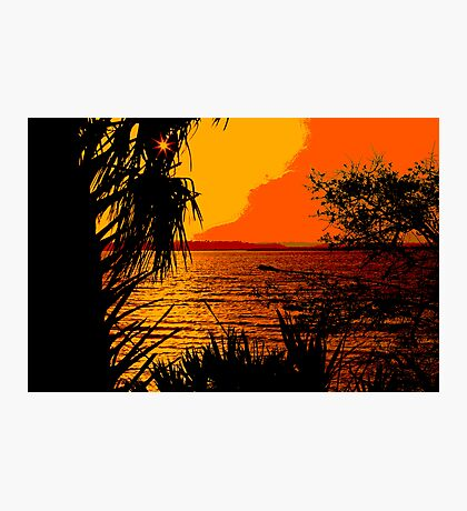 Indian River Sunset Photographic Print