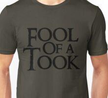 Tookish Fools Black Unisex T-Shirt