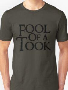 Tookish Fools Black T-Shirt
