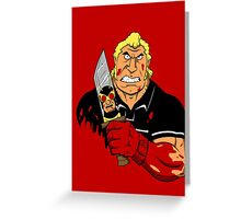 Slayer of Henchmen Greeting Card
