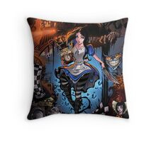 Alice Madness Returns Throw Pillow