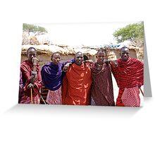 United colors of Tanzania Greeting Card