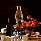 Table Setting in Light and Shadow by BBatten