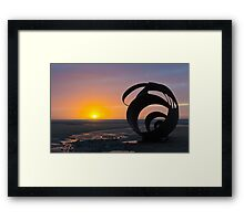 Mary's Shell - Cleveleys Framed Print