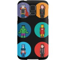 8Bit The Avengers Samsung Galaxy Case/Skin