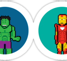 8Bit The Avengers Sticker