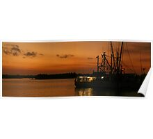 Docks on The Halifax River Poster
