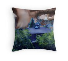 Something to Watch Over Me Throw Pillow
