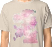 Watercolor Abstraction: Paper Towel Classic T-Shirt