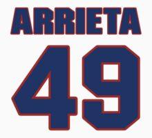 National baseball player Jake Arrieta jersey 49 by imsport