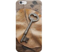 Key to the Woodlands iPhone Case/Skin