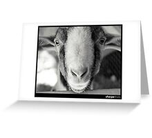 Goaty McGoatington Greeting Card