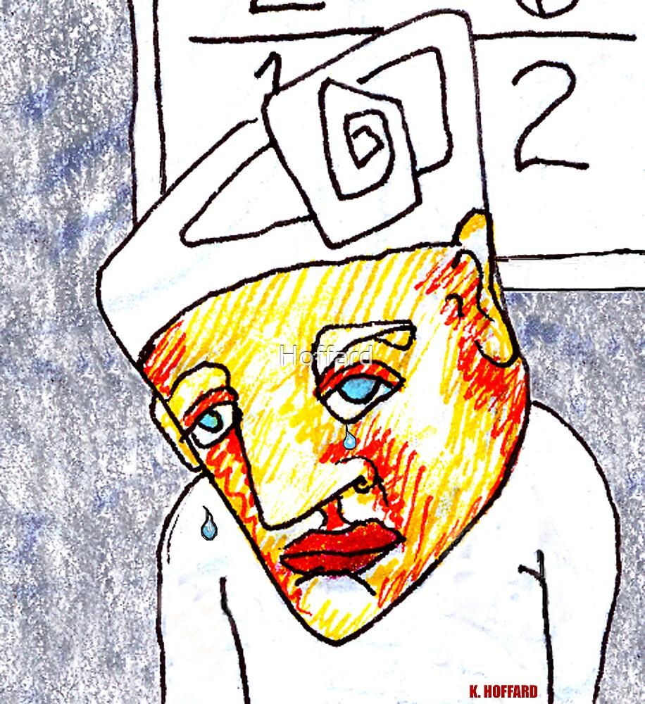 Crying Boy by Hoffard
