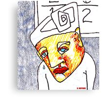 Crying Boy Canvas Print