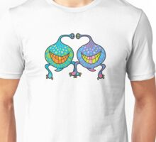 Mr. and Mrs. Blob Monsters Unisex T-Shirt