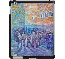 'Prisoners Walking The Round' by Vincent Van Gogh (Reproduction) iPad Case/Skin