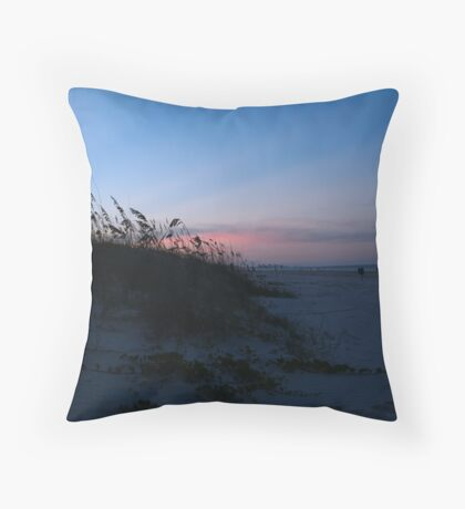 Ponce Inlet Beach Throw Pillow